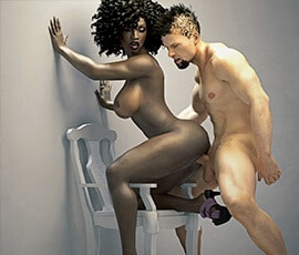 Interracial Sex Simulator